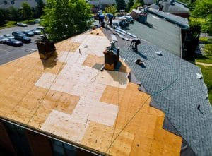how to repair a hole in the roof